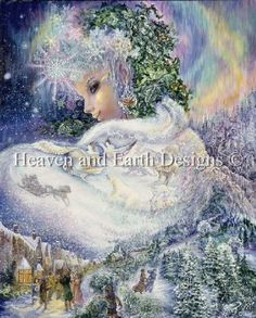 Snow Queen by Josephine Wall
