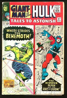 TALES TO ASTONISH #67 Giant Man / Hulk MARVEL COMICS Stan Lee STEVE DITKO Powell