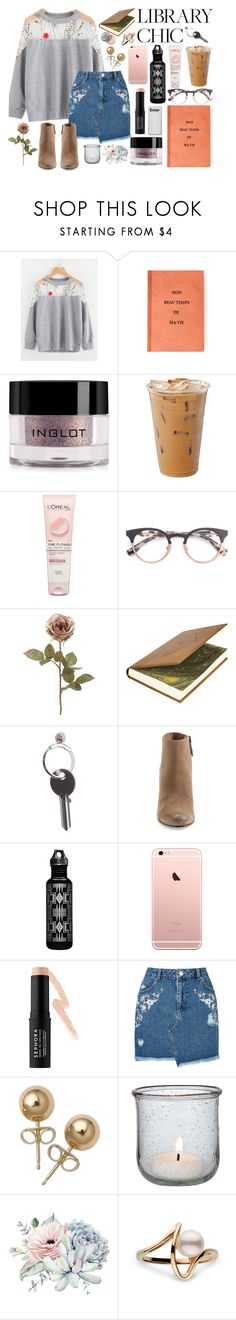 """""""The way she shows me I'm hers and she's mine"""" by skittlebum ❤ liked on Polyvore featuring Inglot, L'Oréal Paris, Maison Margiela, Dolce Vita, Pendleton, Sephora Collection, Miss Selfridge, Bling Jewelry, Cultural Intrigue and Bobbi Brown Cosmetics"""