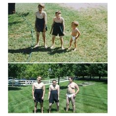 Renew Old Photos in a Fun Shape - funny pictures, funny images, funny photos Funny Shit, Funny Memes, Hilarious, Jokes, Funny Family Photos, Best Funny Pictures, Funny Photos, Joke Of The Week, Then And Now Pictures