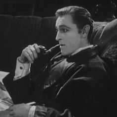... the Shadow of Rathbone: John Barrymore in Sherlock Holmes (1922/2001