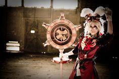 Alice in Wonderland, Steampunk by *Cvy on DeviantArt : http://fav.me/d2pn0p3