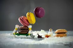 Photographer Creates Detailed Miniature Worlds with LEGO Characters and Life-Size Objects - My Modern Met