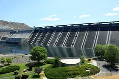 Washington state.  Grand Coulee Dam:  Coulee Corridor National Scenic Byway...Omak, Moses Lake, Othello, Banks Lake, Steamboat Rock State Park, Sun Lakes State Park, Lake Lenore Caves, Potholes State Park, Columbia Nat'l Wildlife Refuge