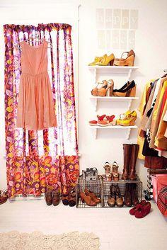 organized closet....just the way i like it