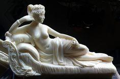 Paolina Bonaparte  (Galleria Borghese di Roma).