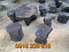 Bộ bàn ghế đá sân vườn đẹp - Bàn ghế đá đẹp - Bàn ghế đá tự nhiên