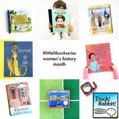 Little Lit Book Series: Women's History Month