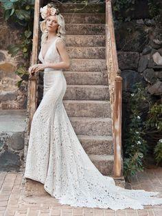 Lace Wedding Dress, Maggie Sottero Wedding Dresses, Colored Wedding Dresses, Perfect Wedding Dress, Dream Wedding Dresses, Designer Wedding Dresses, Bridal Dresses, Wedding Gowns, Wedding Blog