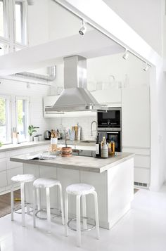home goods decor kitchen Kitchen On A Budget, Kitchen Dining, Kitchen Decor, Kitchen Island, Kitchen Ideas, Home Goods Decor, Home Decor, All White Kitchen, Modern Farmhouse Decor