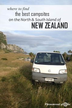 Camping in New Zealand, highly recommended! Where to camp? Check out these 38 great sites I stayed at on the North and South Island (free campsites, DOC sites and Holiday Parks).