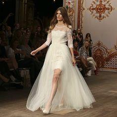 Wedding gown chic via @ida sjostedt at #mbfwsthlm.