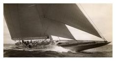 J Class Sailboat, 1934 Prints by Edwin Levick at AllPosters.com