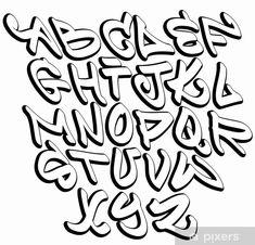Cool Letter Fonts, Block Letter Fonts, Lettering Styles Alphabet, Tattoo Fonts Alphabet, Tattoo Lettering Fonts, Block Lettering, Lettering Design, Cool Fonts Alphabet, Creative Lettering