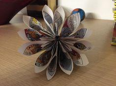 Fiori di carta....Come trasformare vecchie riviste in graziosi lavori creativi!!!