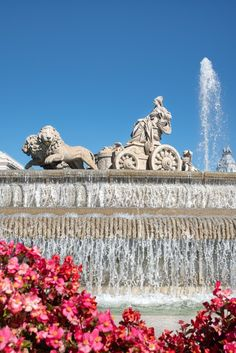 Travel And Tourism, Fountain, Madrid, Spain, Sevilla Spain, Water Fountains, Spanish