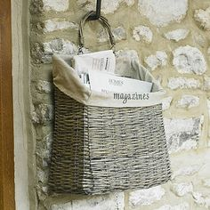 Hanging Magazine Basket