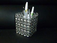Pop Tab Pencil Holder