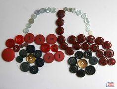 Des tableaux mosaïques de boutons Que faites-vous de vos boutons?