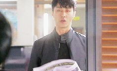 You Are All Surrounded. #KDrama. Sorry I found this awesome gif in a comments thread but don't know who it came from. Must look away but can't stop laughing!