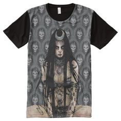 Suicide Squad Enchantress All-Over-Print T-Shirt , Stylish Shirts, Cool T Shirts, Enchantress Dc Comics, S Shirt, Shirt Shop, Superman T Shirt, Logo Design Inspiration, Squad, Print Design