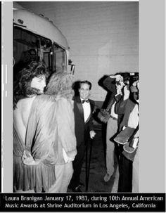 Laura Branigan January 17, 1983, during 10th Annual American Music Awards at Shrine Auditorium in Los Angeles, California