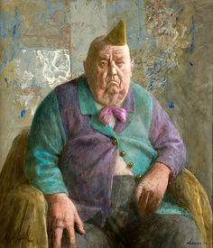 Kenne Gregoire (Dutch, born 1951) Ouwe komediant (Старый комик).