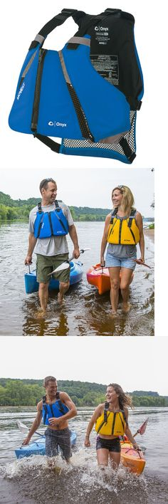 Life Jackets and Preservers 15262: Onyx Adult Blue Movevent Curve Kayak And Paddle Pfd Life Jacket Vest Xl-2Xl -> BUY IT NOW ONLY: $49.99 on eBay!