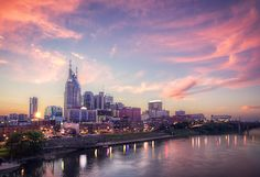 Tennessee brings RVers to the peaks of the Great Smoky Mountains to the fun of Nashville. Here are 5 of the best RV parks to call base camp. Nashville Trip, Nashville Tennessee, Nashville Food, Nashville Skyline, Tennessee Usa, Tennessee Whiskey, Dream Vacations, Vacation Spots, Vacation Ideas