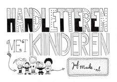 In deze blog leg ik je uit hoe je gemakkelijk kunt handletteren met kinderen. Zowel thuis als op school te doen. Met handige trucjes.