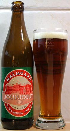 Malmgårdin Panimo Jouluolut (suodattamaton spelttivehnä) 4,5% pullo 2009