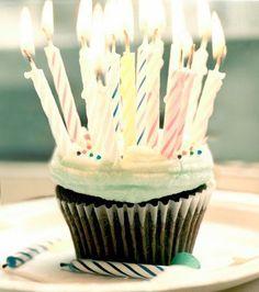 Birthday cupcake :)