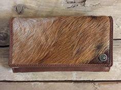 vacht portemonnee bruin