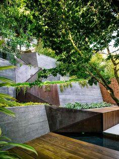 modern garden design by mary barensfeld architecture look at the, Garten dekoo