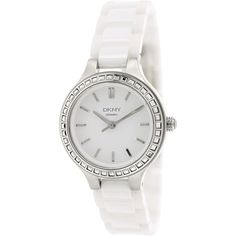 DKNY Women's Silver Analog Watch NY2249 ewatchesusa.com