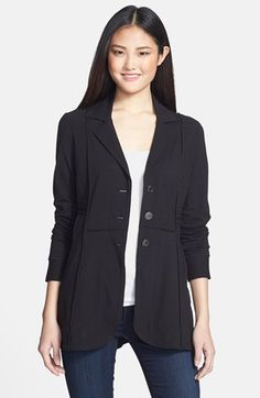 NIC+ZOE Seamed Riding Jacket (Petite) available at #Nordstrom