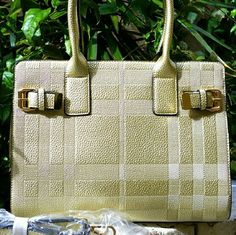 """JUST IN! NWT Gold Multiple Textured Tote Handbag - Premium quality   - Measurements approximately 13.5"""" L x 11""""H x 6""""W  - Detachable gold PU leather handle  - Top Zipper closure  - PU Leather shell with gold tone metal hardware   - Only 1 available! Once gone is gone!  No restock Bags Totes"""