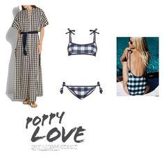 """Poppy Love"" by billie-ann-richardson on Polyvore featuring mode, Solid & Striped et poppydelevingne"