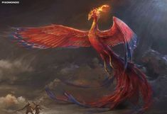 Phoenix Artwork, Phoenix Wallpaper, Phoenix Bird, Dark Phoenix, Mythical Creatures Art, Magical Creatures, Creature Concept Art, Creature Design, Animal Espiritual