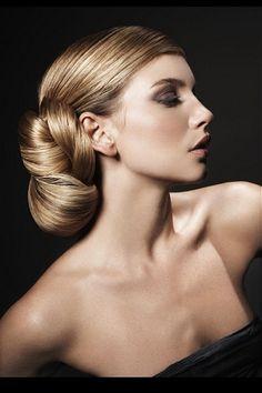 Abiye Topuz Saç Modelleri 2012-2013
