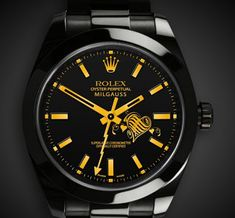 Buy Rolex Milgauss watches at discounted rates from UK's preimier Outlet of Authentic Rolex. Get all types of new, second hand, used Rolex Milgauss for sale at affordable prices. Dream Watches, Luxury Watches, Rolex Diamond Watch, Diamond Watches, Black Rolex, Gold Rolex, Rolex Watches For Men, Wrist Watches, Black Watches