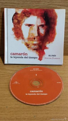 CAMARÓN. LA LEYENDA DEL TIEMPO. LIBRO-CE / EL PAIS - 2008 / BUENA CALIDAD.