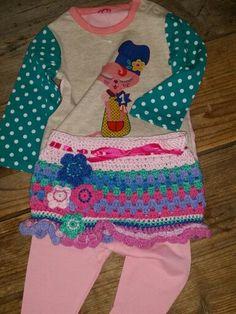 Ooakbyc baby skirt