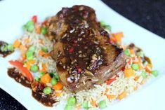 Przepis na: Steak teryaki Sushi, Steak, Beef, Food, Meat, Essen, Steaks, Meals, Yemek