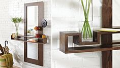 entry way with floating shelf - Google Search