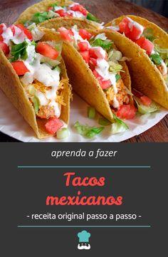 42d07de88d0 8 melhores imagens de Como fazer tacos se mexicanos em 2017 ...