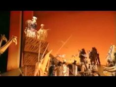The Original London Cast of THE LION KING. clips from various parts. shows lots of the action and costumes