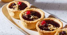Áfonyás mini pite recept   Street Kitchen Nutella, Cobbler, Cake Recipes, Waffles, Breakfast Recipes, Protein, Cheesecake, Tacos, Muffin