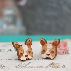 Hey, I found this really awesome Etsy listing at https://www.etsy.com/listing/120963429/laser-cut-wooden-french-bulldog-earrings