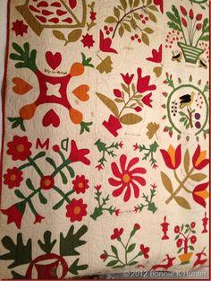 Minister's quilt 1850